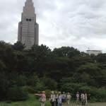 晴美ちゃんと植物散策in新宿御苑と木の実アクセサリー教室